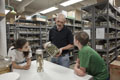 Behind-the-scenes tour of Herpetology Collection. Photo by Jeff Fusco