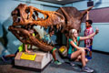 kids and climbable dino skulls. @Jeff Fusco/Visit Philly