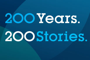 200 Years. 200 Stories logo