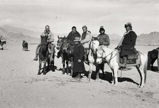 photo of expedition to Tibet