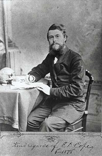 photo of Edward Drinker Cope in 1876