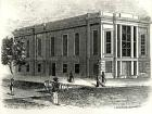 illustration of the Academy's building in 1840