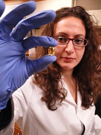 environmental chemist Linda Zaoudeh