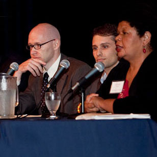 featured panel during an environmental program