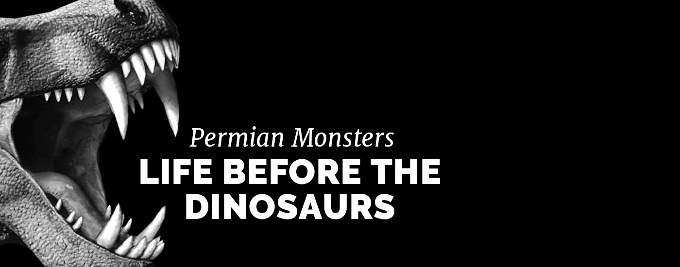 Permian Monster logo with jaw