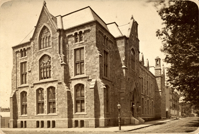 Archival Image of Academy Exterior