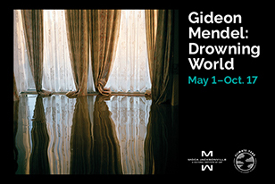 drowning world gideon mendel curtains in flood water