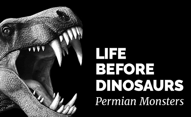 permian monsters life before dinosaurs