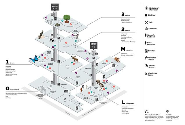 Drexel University Academy Of Natural Sciences Floor Plan