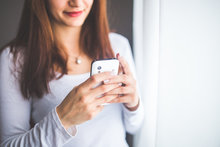 Woman Texting small